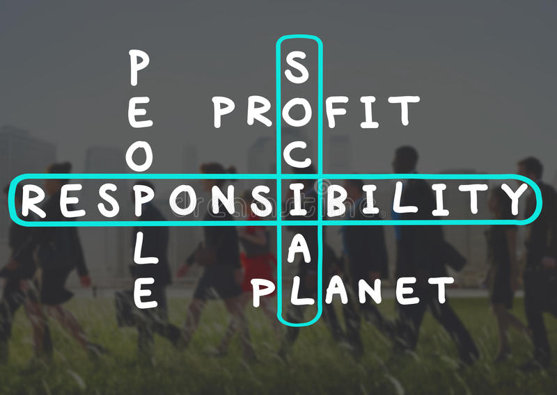 Social Responsibility Reliability Dependability Ethics Concept royalty free stock image