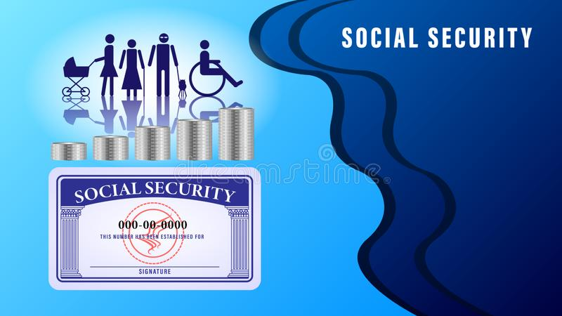 Social Security Card Stock Illustrations 1 881 Social Security Card Stock Illustrations Vectors Clipart Dreamstime
