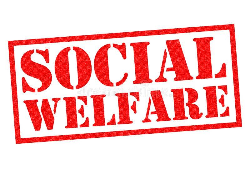 SOCIAL WELFARE vector illustration