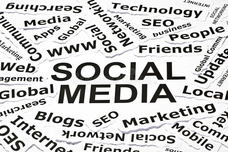 sociala begreppsmedel fotografering för bildbyråer