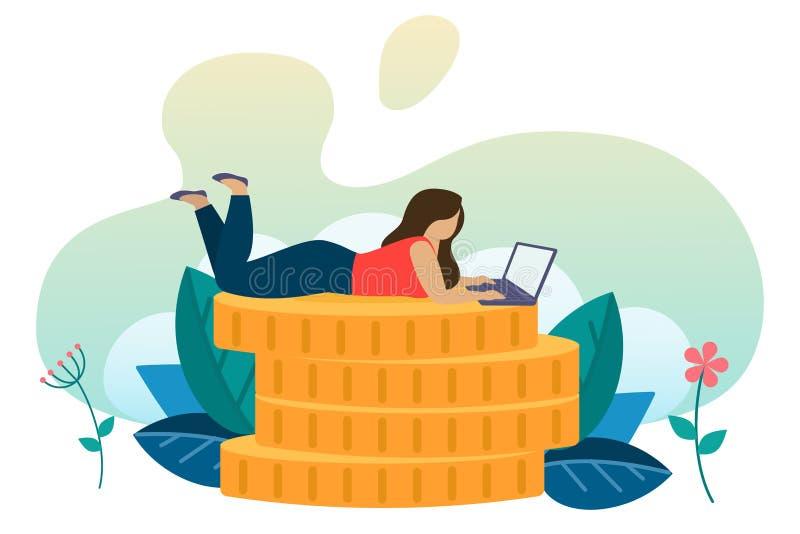 Sociale en bedrijfssituaties vector illustratie