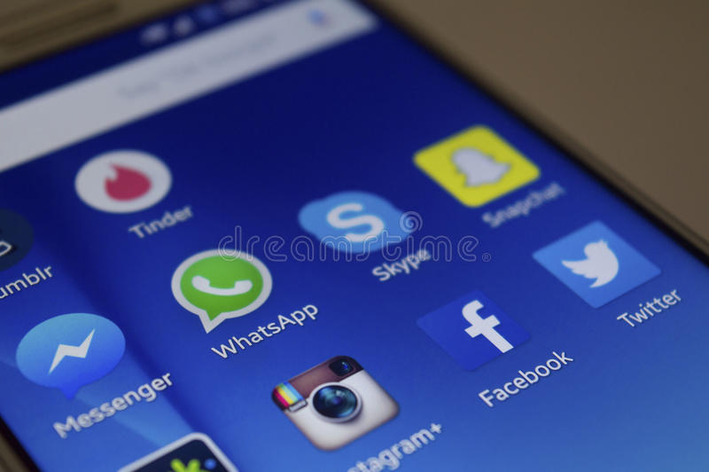 Sociale Media royalty-vrije stock foto's