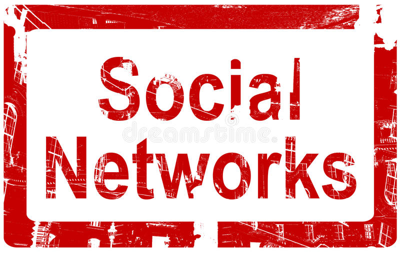 Sociale Netwerken vector illustratie