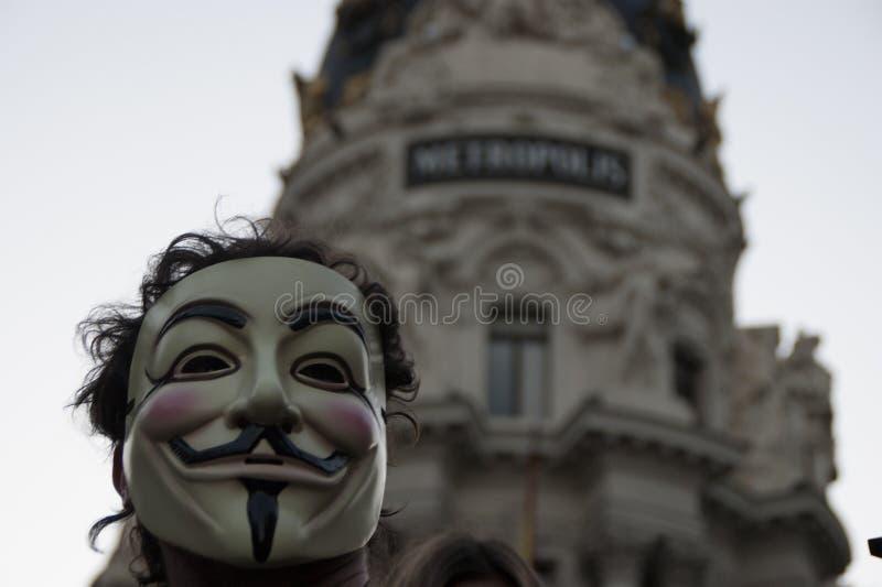 Sociale Revolutie stock fotografie
