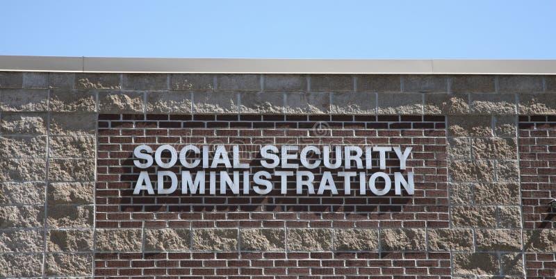 Sociale zekerheidbeleid royalty-vrije stock afbeeldingen