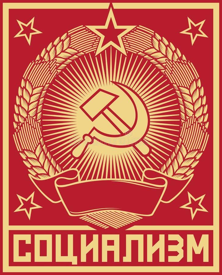 Socialismo ilustração royalty free