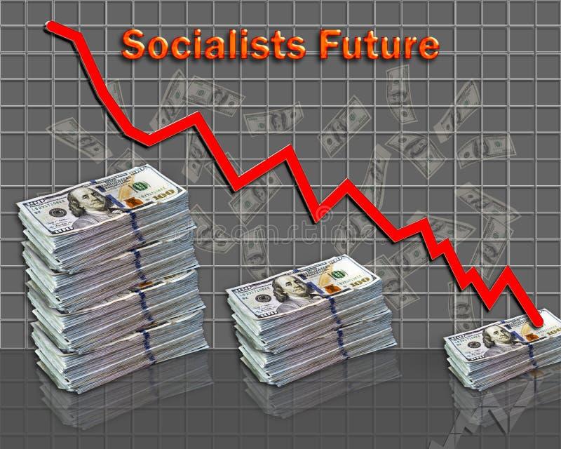 The Socialist Future stock image