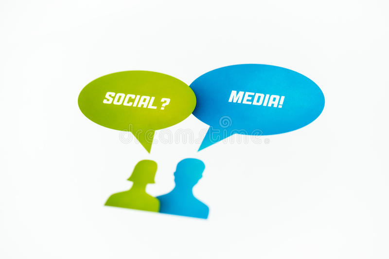 Socialt massmediabegrepp arkivfoton