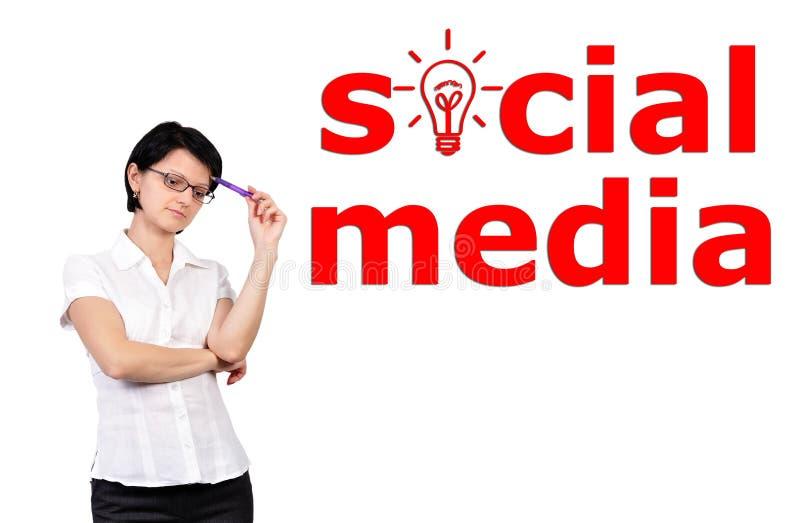 Download Socialt medelbegrepp arkivfoto. Bild av mänskligt, flicka - 27275420