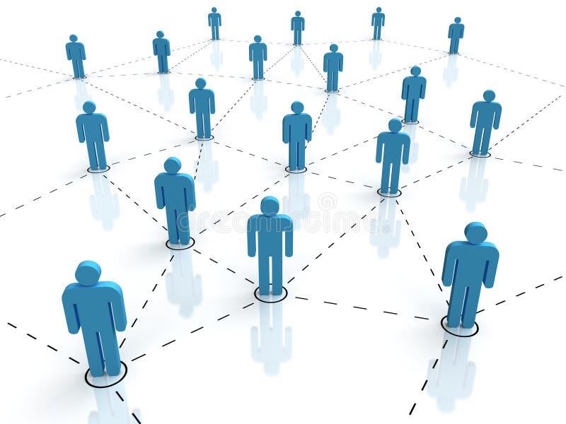 Socialt nätverk arkivbilder