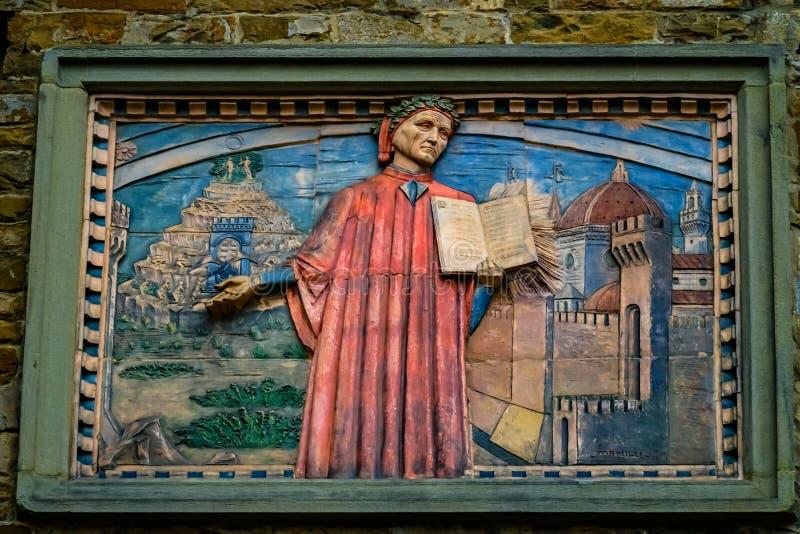 Societa Dante Alighieri Cultural Society Building Florence Italy royalty-vrije stock fotografie