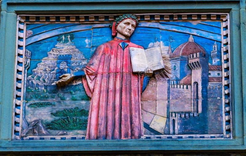 Societa Dante Alighieri Cultural Society Building Florence Italy royalty-vrije stock afbeelding