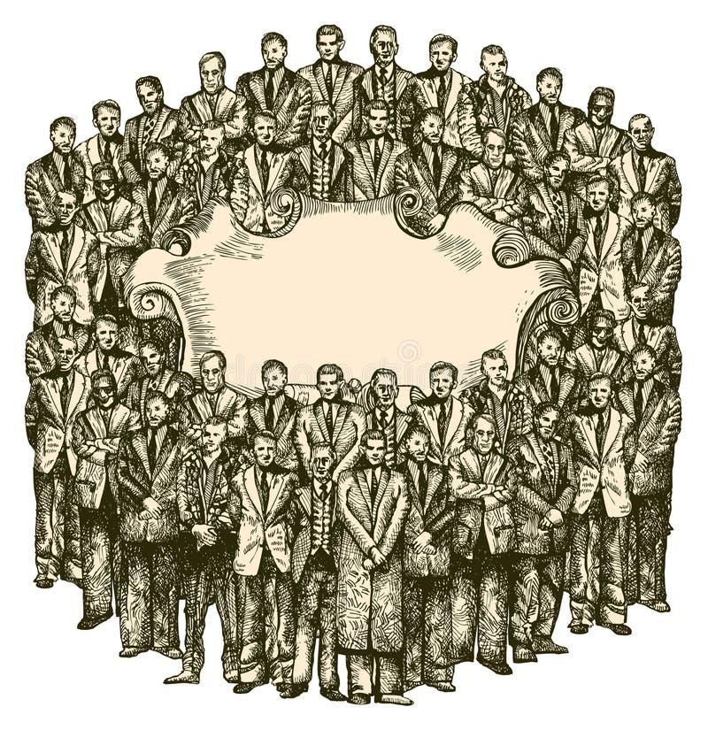 Society stock illustration