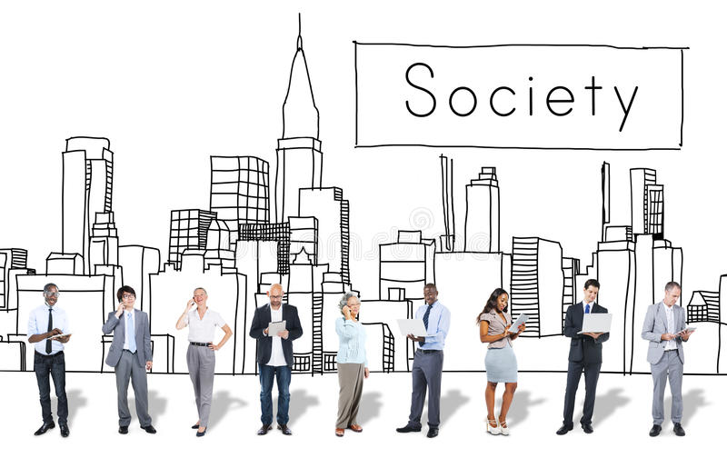 Society Community Unity Network Group Concept stock images