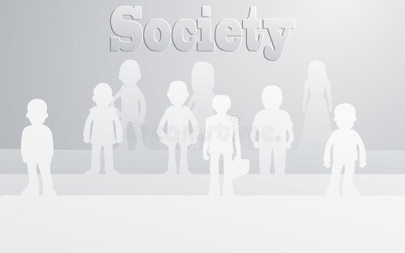 Download Society stock vector. Illustration of human, crowd, company - 30553402