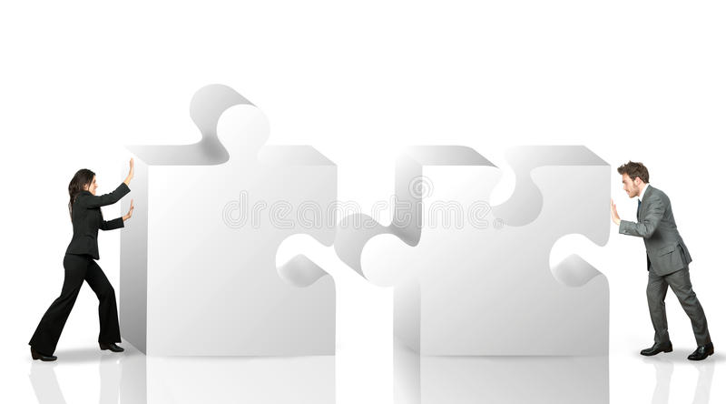 Socio commerciale illustrazione vettoriale
