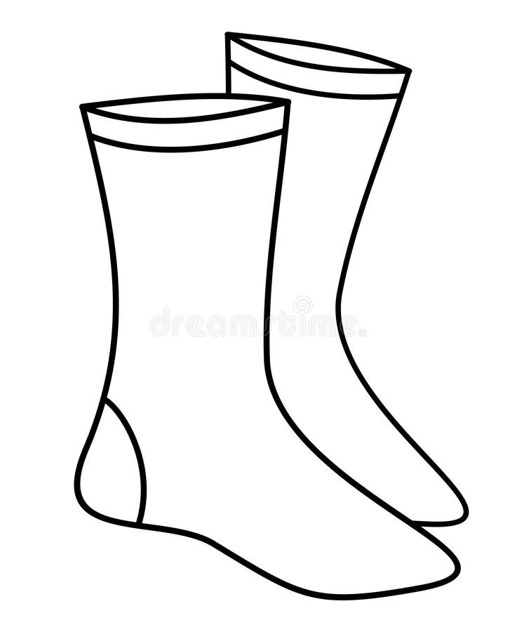 Socken (Vektor) vektor abbildung
