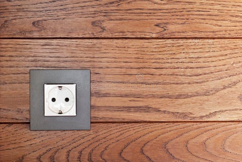 Socket eléctrico imagen de archivo