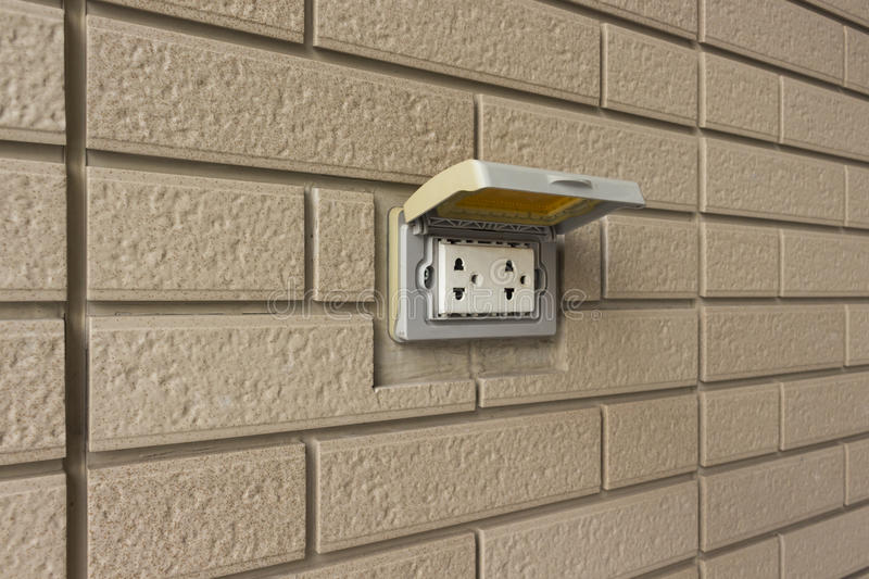 How To Install Electrical Outlet In Brick Wall