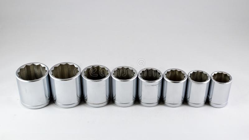 Socket wrench royalty free stock images
