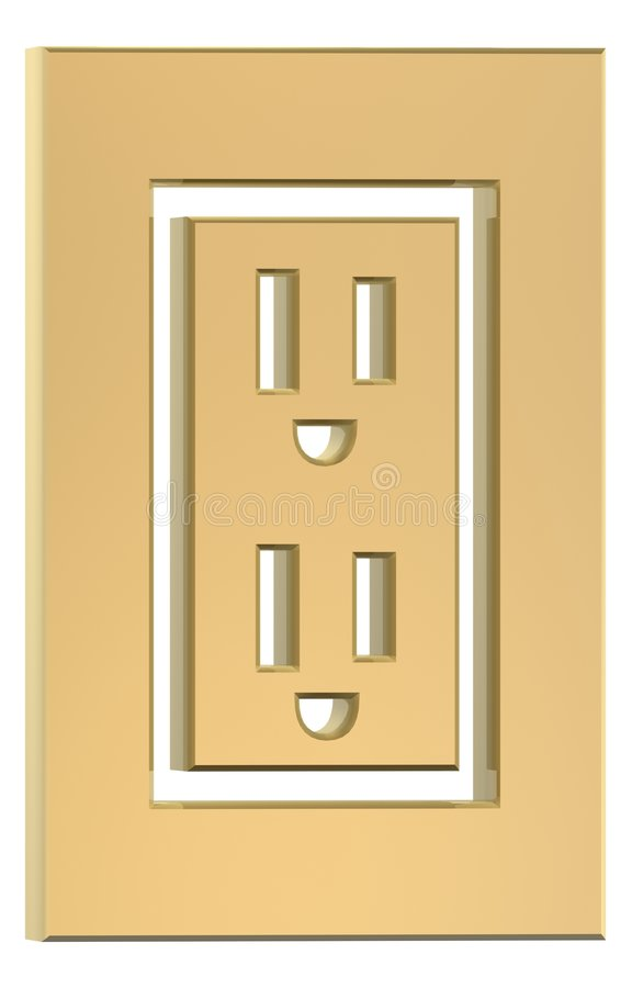 Download Sockets stock illustration. Illustration of plug, electricity - 1099554