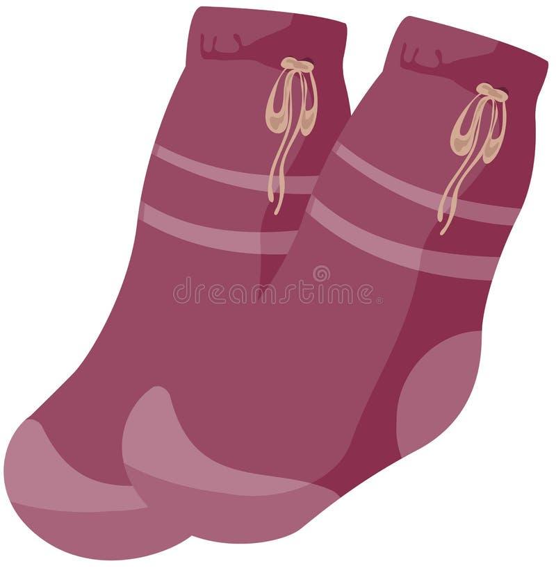Socks stock illustration