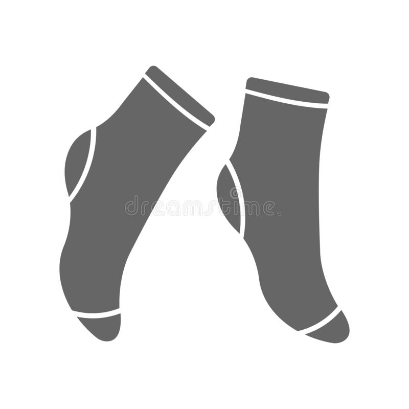 Socks icon. Premium Socks icon design from clothes collection. For web, mobile, software, print. Vector illustration vector illustration