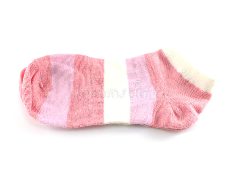 Socks isolated on white background. Striped socks isolated on white background n stock images