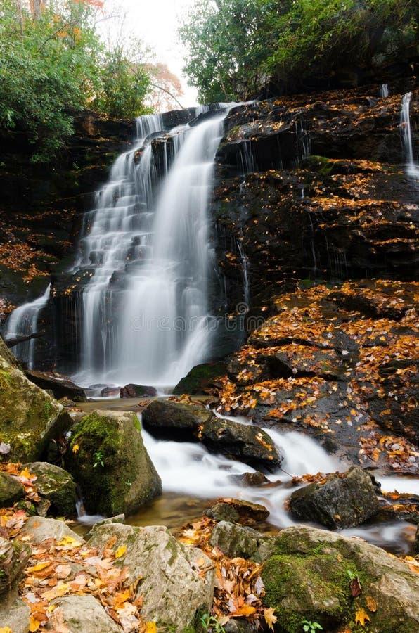 Soco Falls stock image