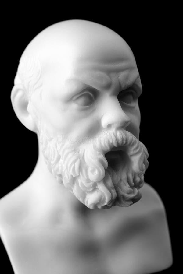 Socrates żyjący w Ateny był Greckim ateńczykiem (470 399 BC - BC) fotografia royalty free