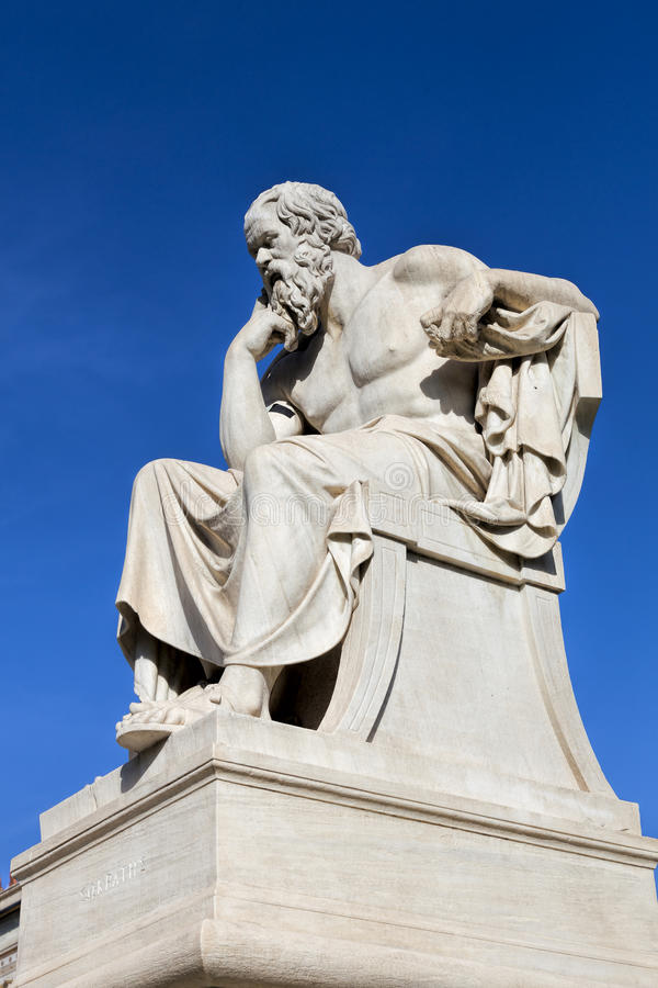 Socrates royalty-vrije stock afbeeldingen