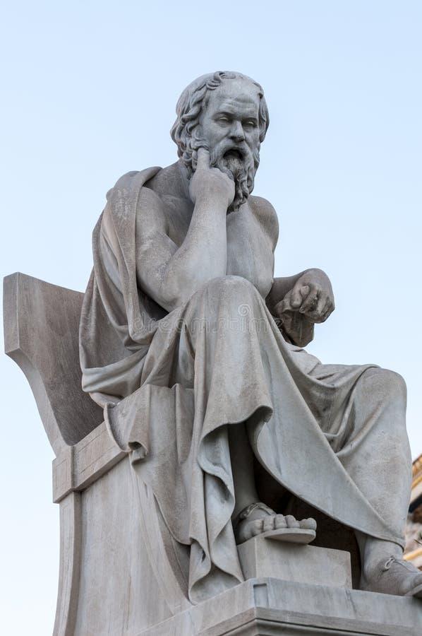 Socrates classico del ratue fotografia stock