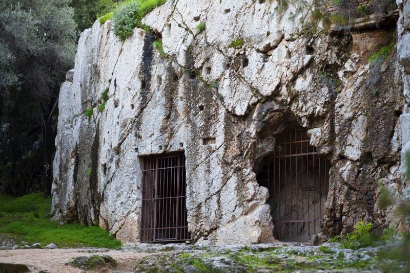 Socrates-gevangenis royalty-vrije stock foto