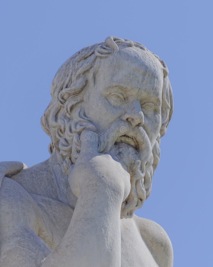 Socrates il filosofo fotografie stock