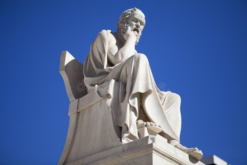 Socrates, il filosofo immagini stock