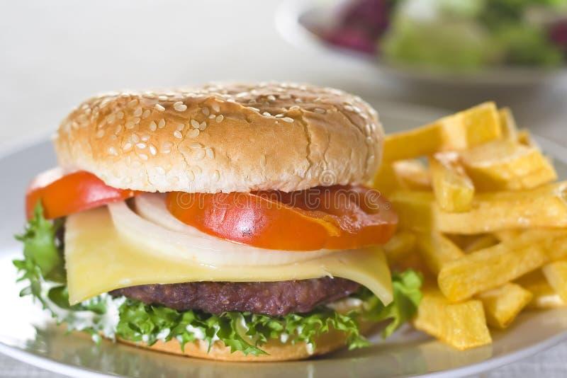 soczysty hamburgeru mięso zdjęcie royalty free