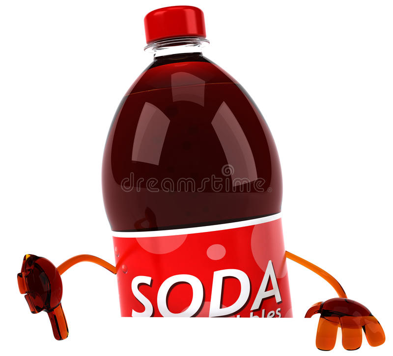 Download Soda stock illustration. Image of brown, sweet, overweight - 18151339