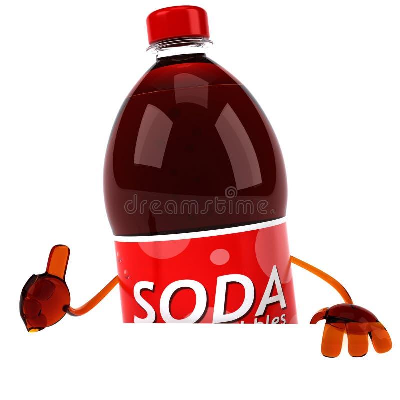 Soda stock abbildung
