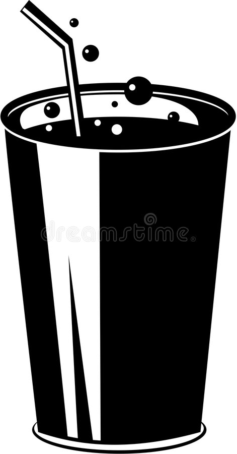 Soda stock illustratie