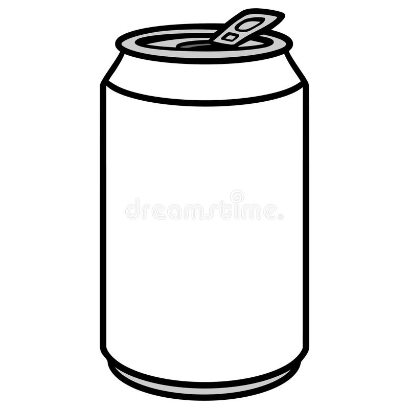 soda can illustration stock vector illustration of soda 84903266 rh dreamstime com soda can vector image