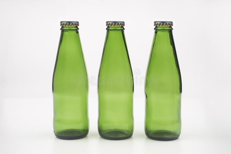 Soda, cola, fizzy drinks such as bottles. Soda, cola, fizzy drinks such as grenen bottles royalty free stock image
