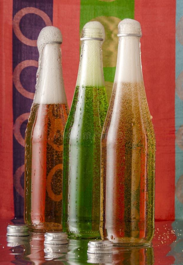 Soda con le bolle fotografia stock