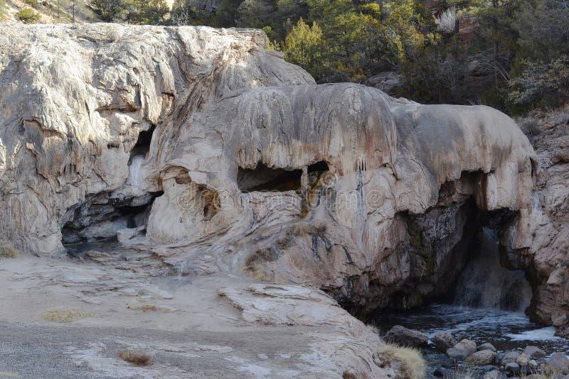 Soda Dam in New Mexico. An interesting dam, Soda Dam in New Mexico stock image