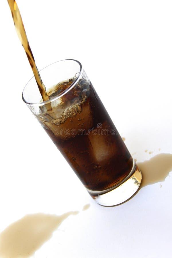 Soda de colada imagen de archivo