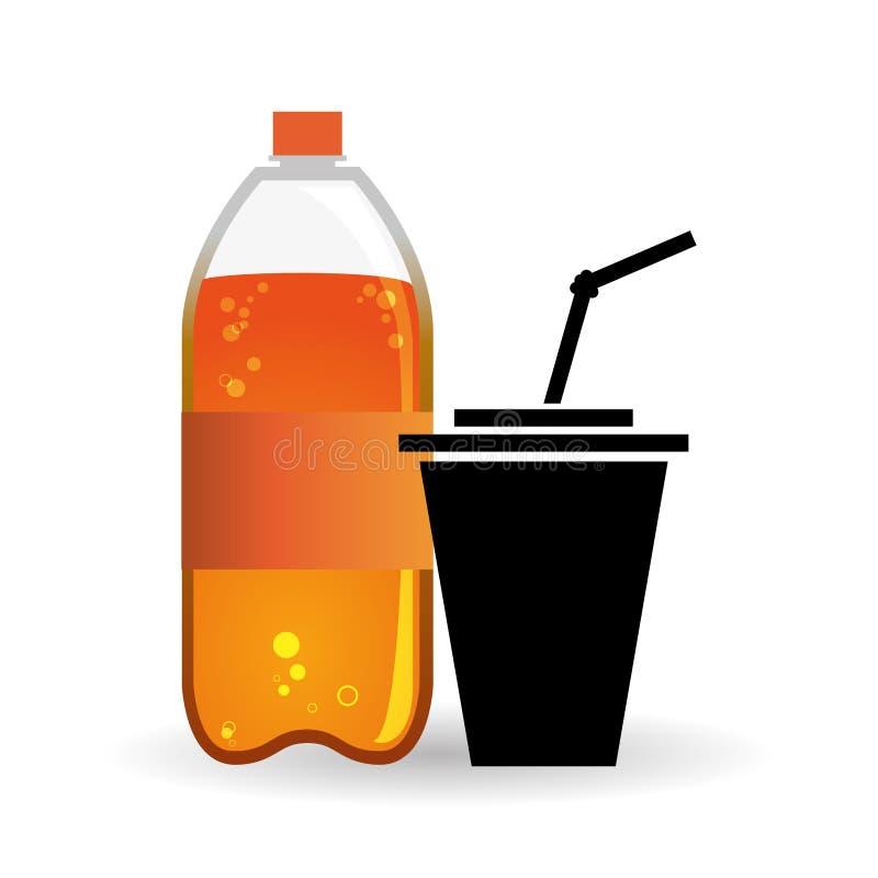 Soda design. Drink concept. white background. Soda concept with icon design, vector illustration 10 eps graphic vector illustration