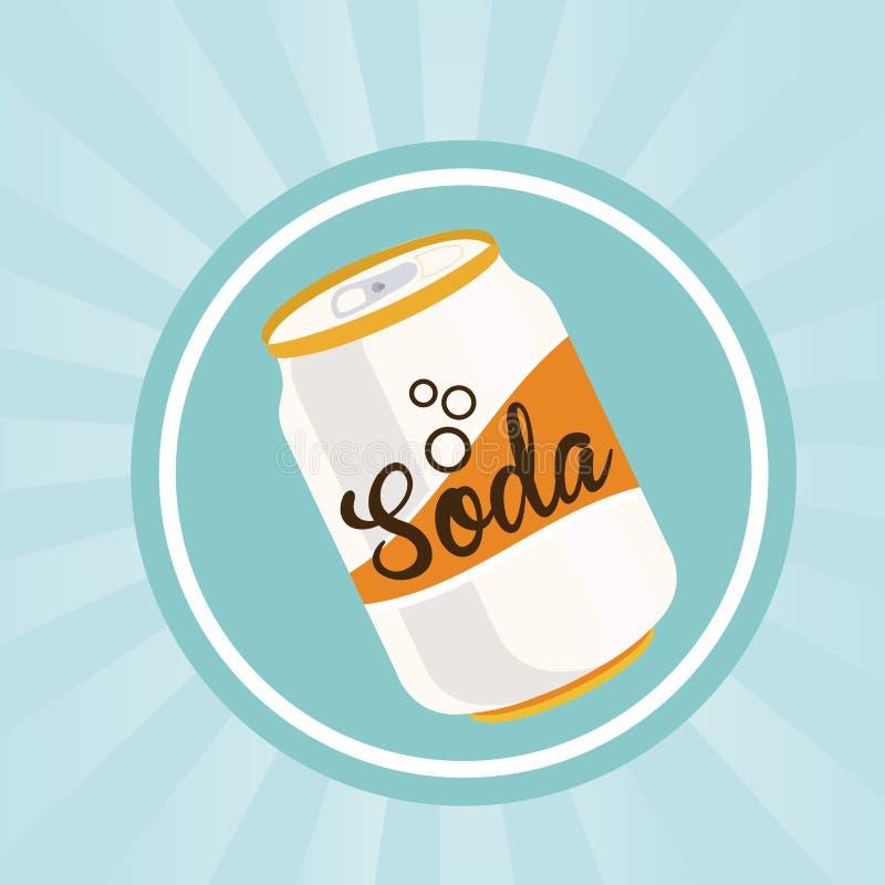 Soda design royalty free illustration