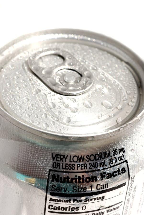 Soda-Dose lizenzfreie stockfotos