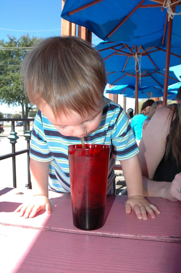 soda jest babys obraz royalty free