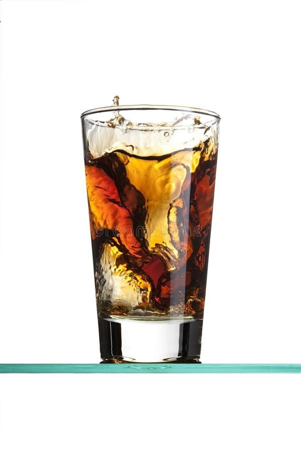 Soda Splash Stock Image