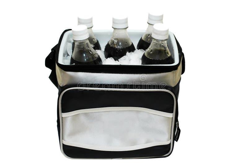Soda su ghiaccio immagine stock